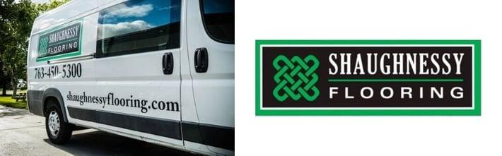 Shaughnessy logo and van.