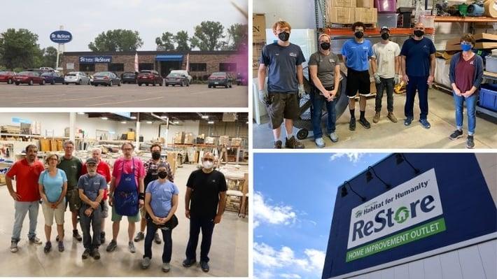 ReStore staff at both locations.