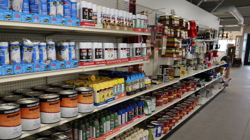 paint and supplies at new brighton restore