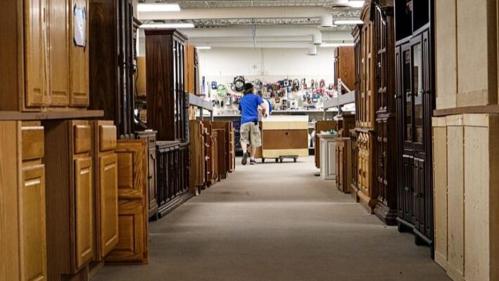 Cabinets at ReStore.