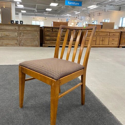 Rae's project chair at ReStore.