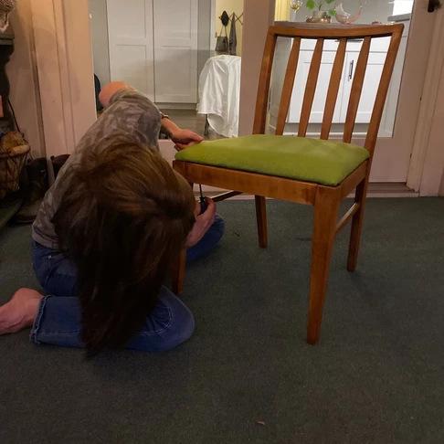 Tiffany Blog - Reattach Seat