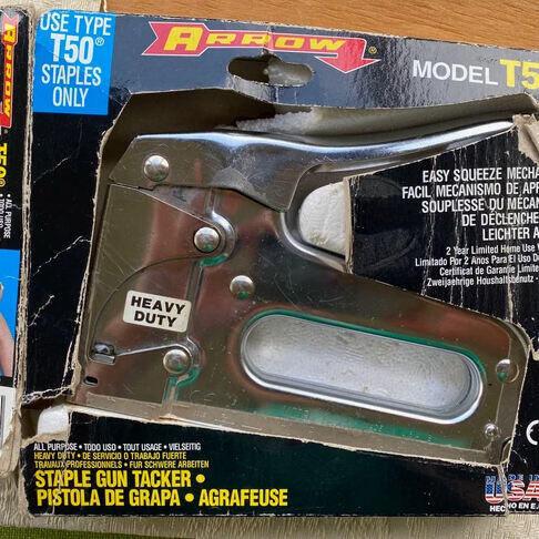 A staple gun.