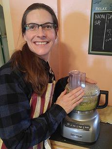 Jill Cooking