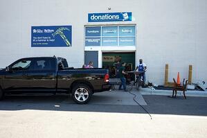 ReStore donation drop-off.