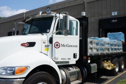 McGough truck at ReStore.