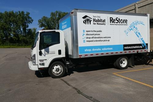 New restore truck.