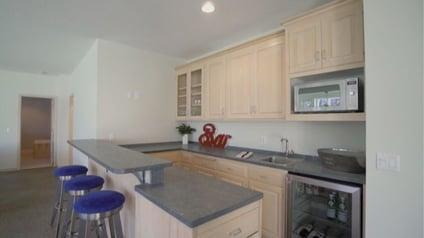 Julie's remodeled kitchen.