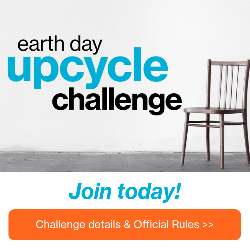 UpCycle Challenge Chair Takeover