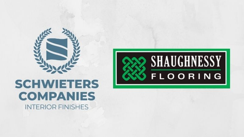 Schwieters Company and Shaughnessy Flooring logos.