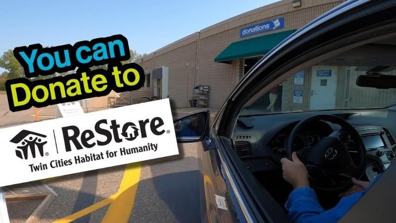 You can donate to ReStore.