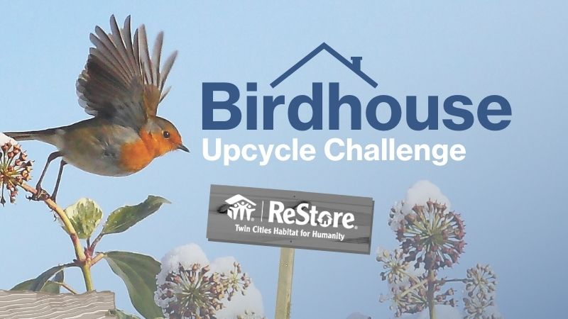 Birdhouse Upcycle Challenge at ReStore.