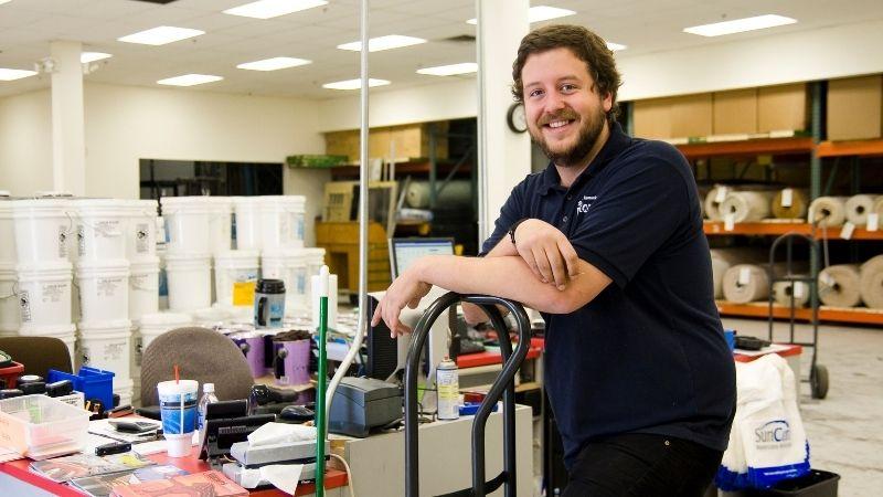 Grant at ReStore.