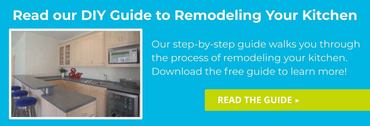 kitchen remodel diy guide