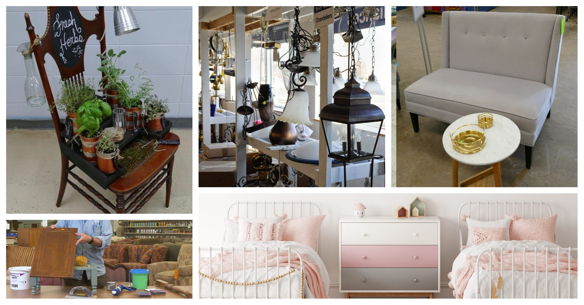 7 Easy Makeover Ideas to Spruce Up Any Space - lamp, remodel, diy, bedroom, kitchen, ideas