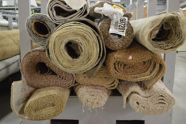 Carpet options at the ReStore-Feature