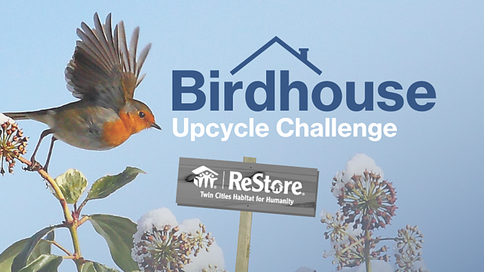 birdhouse upcycle challenge at ReStore