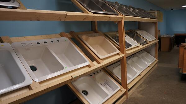 Kitchen sink options at ReStore--1