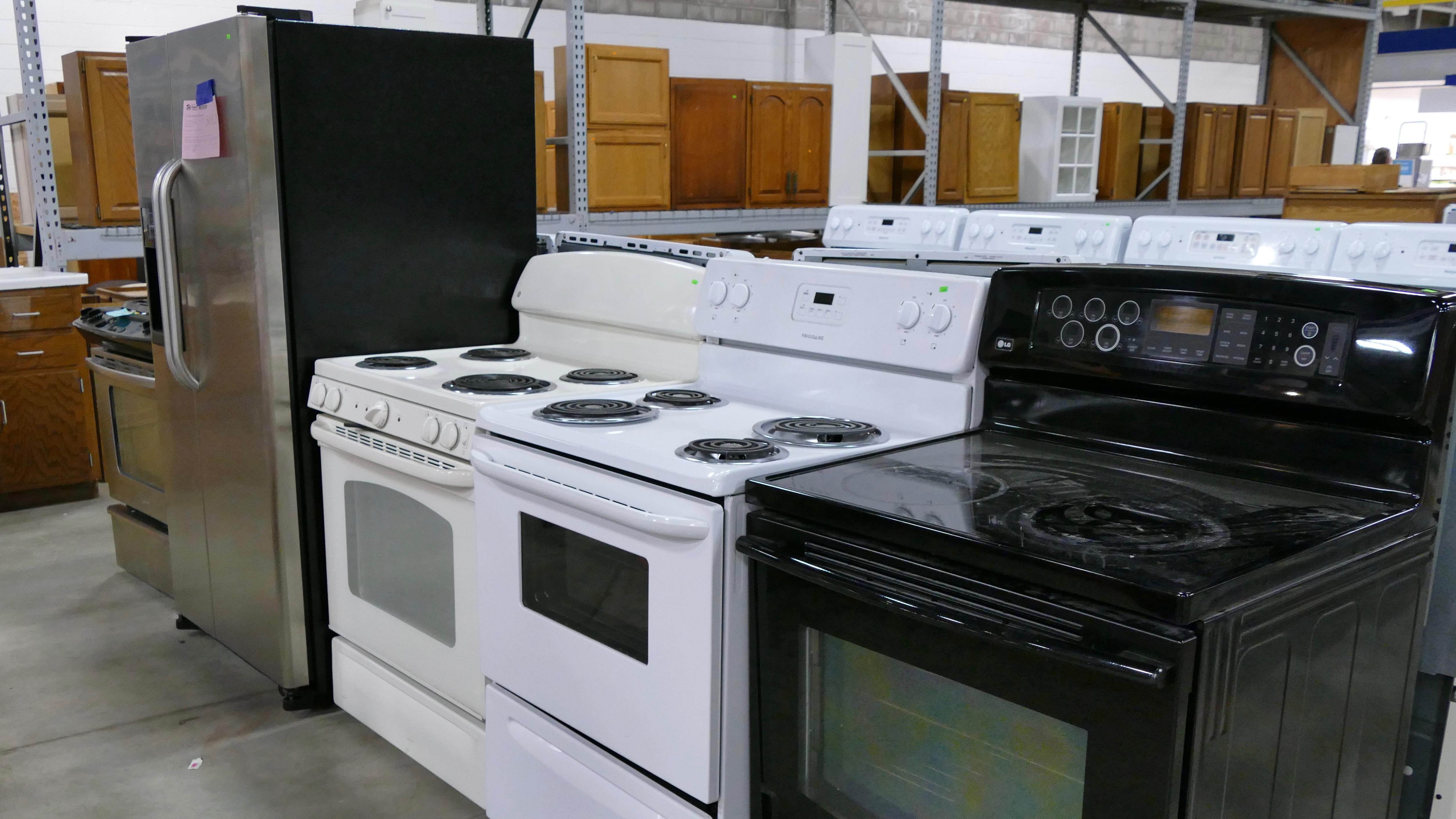 Appliances at the Minneapolis ReStore