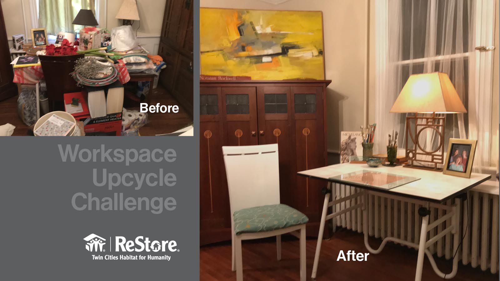 Winner of the ReStore Upcycle Challenge