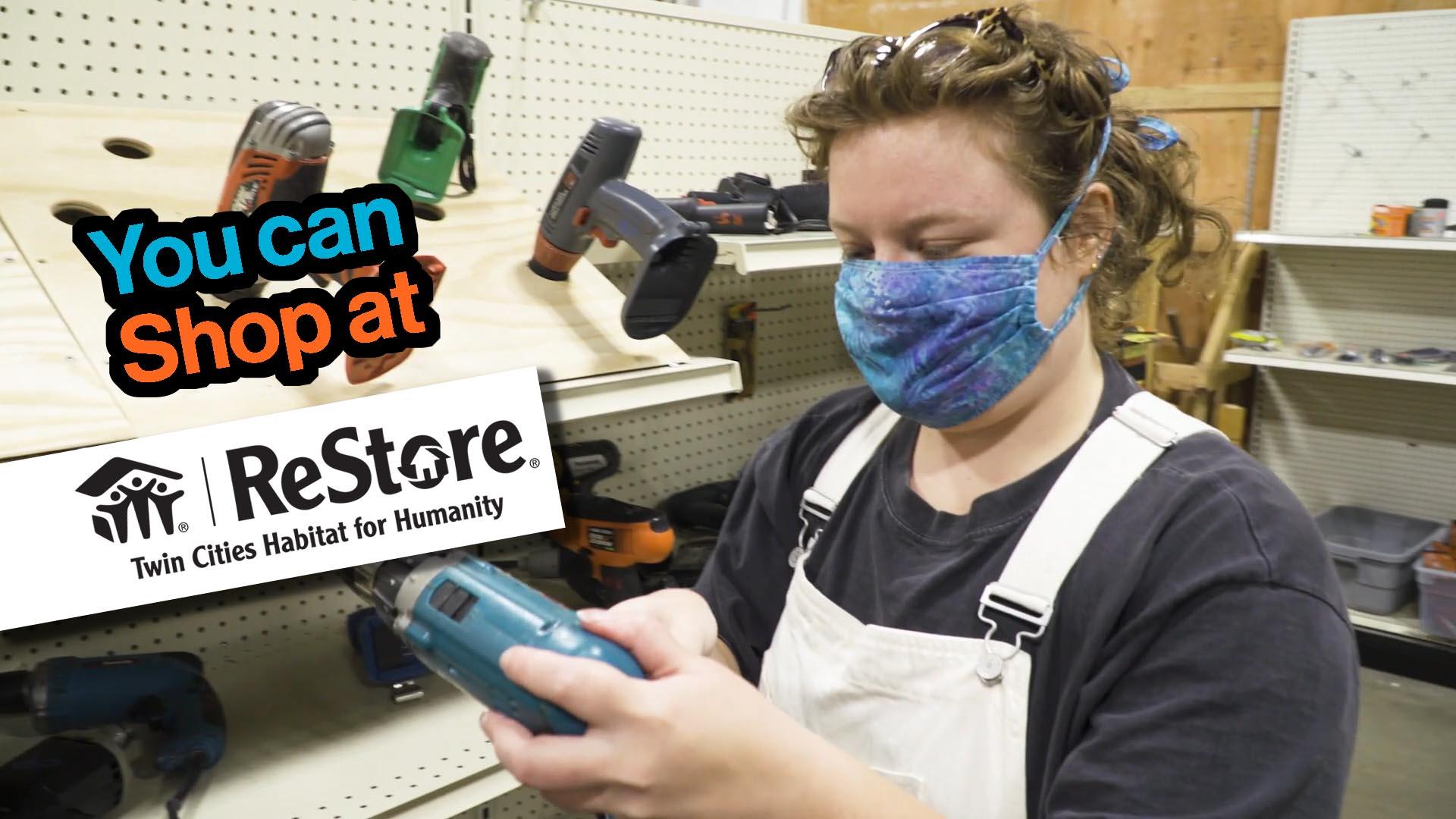 Shop at ReStore safely