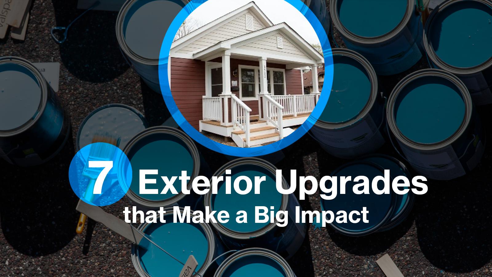 7 exterior upgrades that make a big impact