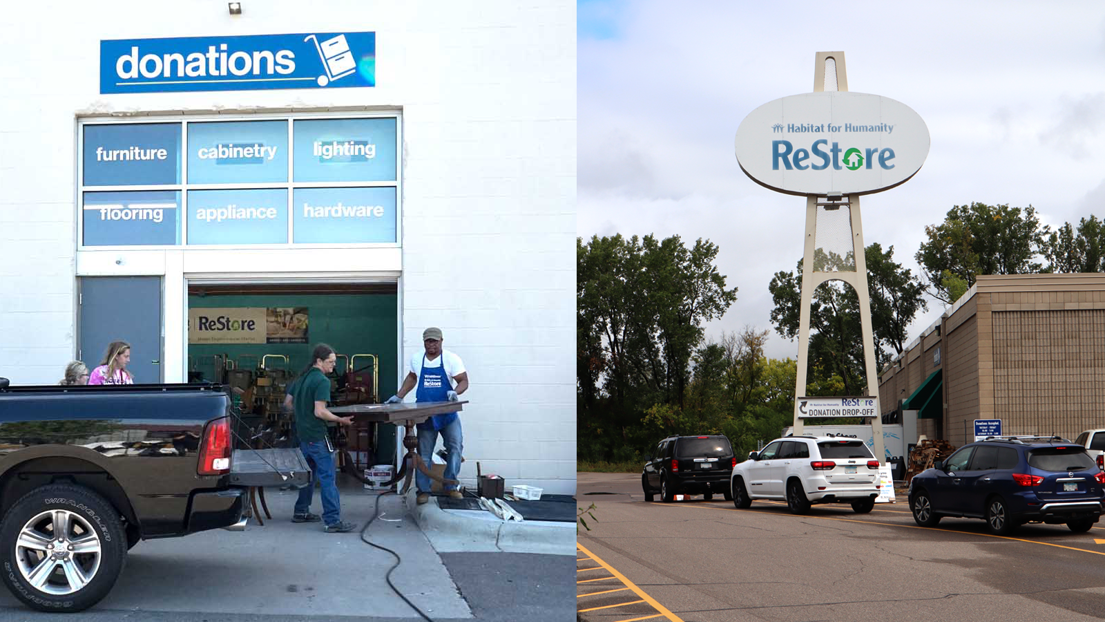 Donate to ReStore. Two metro locations within the Twin Cities, Minnesota